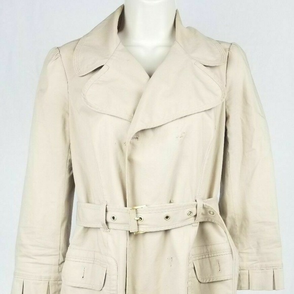 Juicy Couture Jackets & Blazers - Juicy Couture Tan Trench Coat Medium